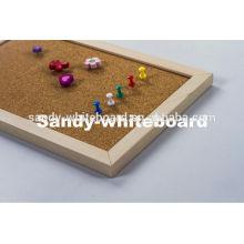 Wood Frame Corrugated Cardboard Cork Board