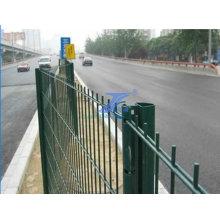 Malla de alambre de la cerca de alambre de la trama doble (fábrica)