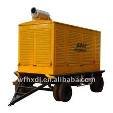 8KW-1500KW generator trailer truck