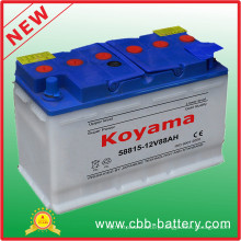 DIN 58815 (88AH 12V) Automotive Dry Battery