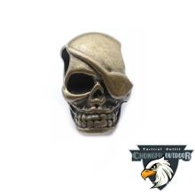 Paracord skull link for bracelet