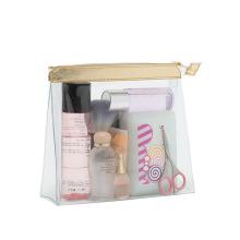PVC Clear Lady Vinyl Washing Cosmetic Bag