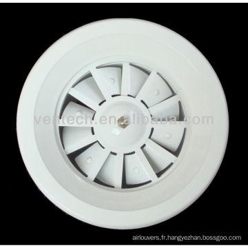 diffuseur à jet hélicoïdal pour climatisation