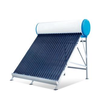 Non-pressurized Evacuated Tube Solar