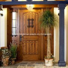 Puertas de entrada rústicas decorativas, puertas de entrada delanteras, puertas de entrada rústicas de madera