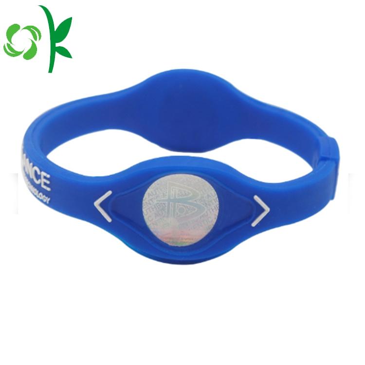 Power Charm Silicone Bracelets
