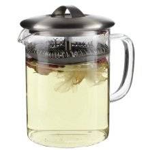 Fire Resistant Pyrex Glass Teapot With Infuser