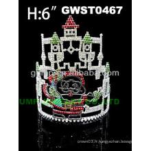 La tiare et la couronne du château du Père Noël