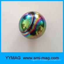 Juguete magnético colorido de la bola del imán de la ferrita de la venta