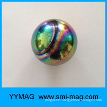 Hot sale colorful ferrite magnet ball magnetic toy