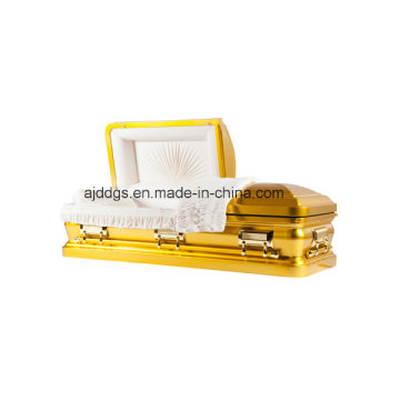 Amercian estilo ataúd del oro (16179055)
