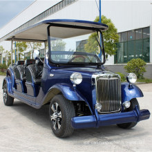 Blue Color Luxury Best Electric Retro Car Made in China