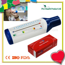 Débitmètre de pointe en plastique médical