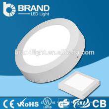 6w / 12w / 18w / 24w surface montée ronde led plafond panneau lumière