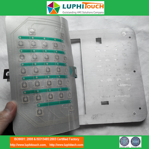 Aircraft Vibration Analyzer Membrane Keypad