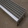 Galvanized Welded Steel Grating Stair Tread