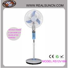 Ventilateur rechargeable DC DC Double Duty 16inch avec lampe LED (RS12V16H)