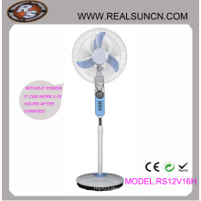 AC DC Double Duty Rechargeable Fan 16inch with LED Lamp (RS12V16H)