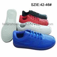 Chaussures d'injection de chaussures en caoutchouc de nouveau style hommes chaussures (MP16721-1)