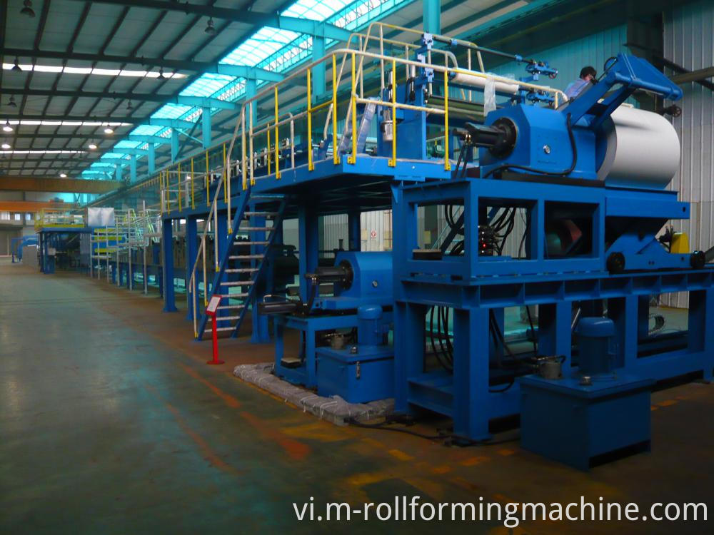 Continuous PU Sandwich Panel Production Line Machine