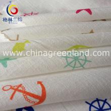 Woman Printed Garment Woven Fabric of 100%Cotton (GLLML158)