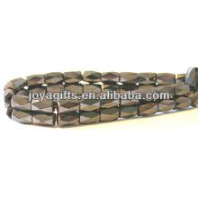 Granos facetados magnéticos 5 * 8MM para la fabricación de la joyería