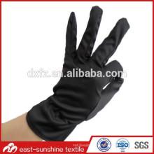 Logotipo personalizado impresa guantes de joyería, guantes de limpieza de lujo