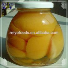 Pfirsichhälften