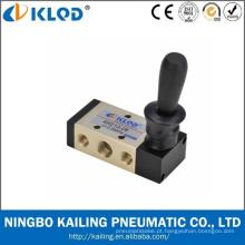 válvulas de controle 4H 410-15 de accionamento manual pneumática