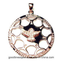 Good Quality and Silver Pendant with Bird Charm Jewelry Pendant (P4760)