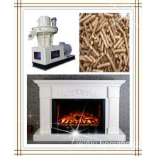 Vertical ring die wood pellet machine make energy source for sale