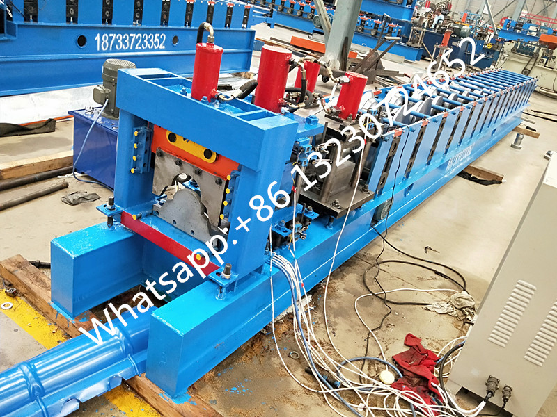 roof ridge cap roll forming machine