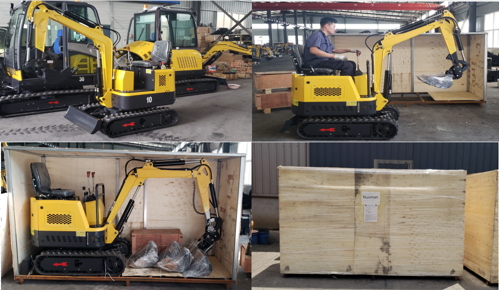 package for mini excavator