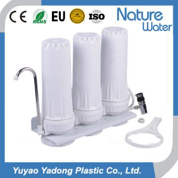 Filtro de água de três andares