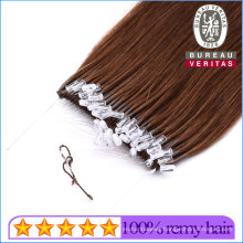 Human Virgin Remy Hair Double Drawn Brazilian Ponytail Hair Extensions Easy Pull Knot Thread Hair