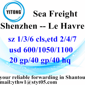 Shenzhen International Logistics nach Le Havre