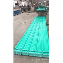 tuile en plastique de PVC de projet de techo anti-corrosif