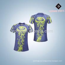 Buena calidad poliéster 2017 nuevo estilo hombres camisas de compresión