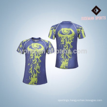 Good quality polyester 2017 new style men compression shirts