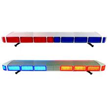 128W Blitzlicht / Warnlicht der Polizei / Lichtleiste mit Sirene für Auto