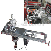 Zipper Storage Bag Making Machine med Ultrasonic Welder