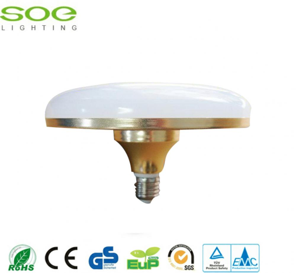 12W Golden UFO LED Glühbirnen