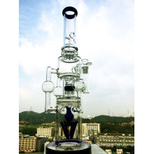 Großhandel 3 Recycler Duschkopf Glas Rauchen Rohr