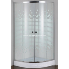 Vidrio pintado simple cuarto de ducha (E-01P)