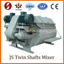 js compulsory mechanical hydraulic pump for motor cement mixer