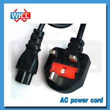 Fábrica al por mayor británico británico fusible cable de alimentación con cable de extensión