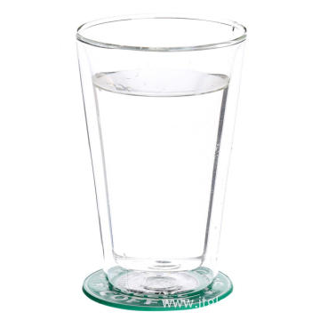 Hot Sale Handle Glass Cup Green Tea