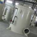 New fume gas elimination absorption scrubber