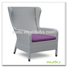Audu Club Chair/Purple Rattan Club Chair Indoor