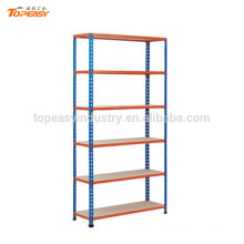 powder coated shelf rack for storage system
